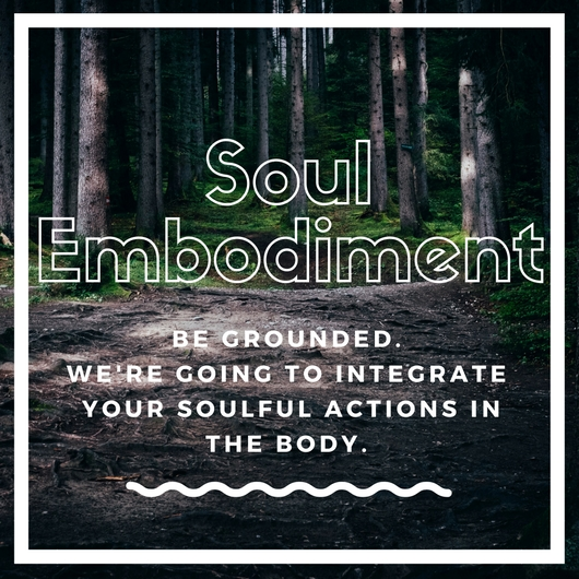 - Immerse yourself in your essence and have each choice, action, feeling, reflection anchored in the body. Integrate - heal on the cellular level, take soulful action daily,and receive intuitive support from the body itself to align the body, mind, and soul.9 months ~ 36 Sessions + 2 Soul Awakening™ weekends$4500 plus HST
