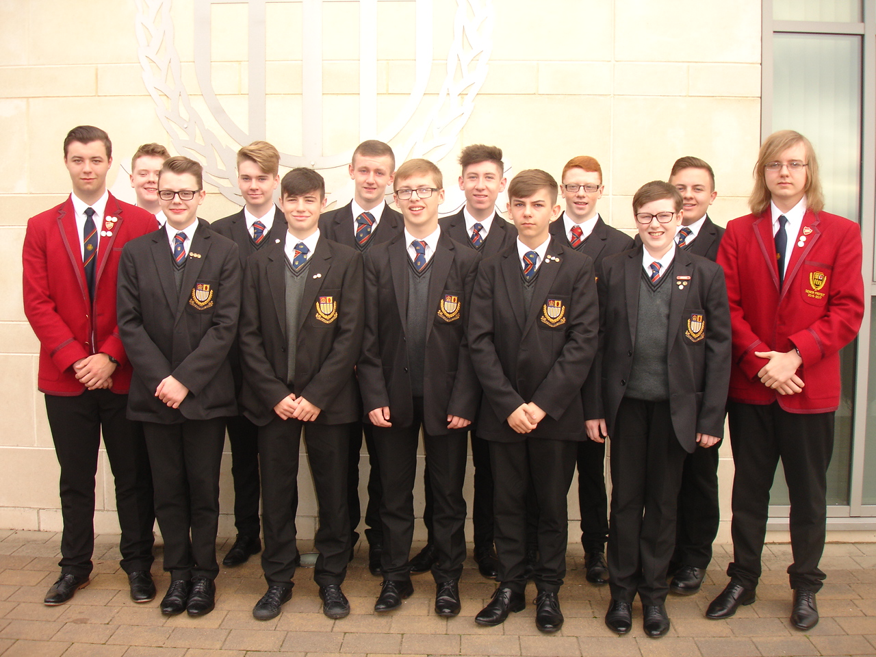 Eighteen boys from BBMS took part in this year's Belfast Tattoo