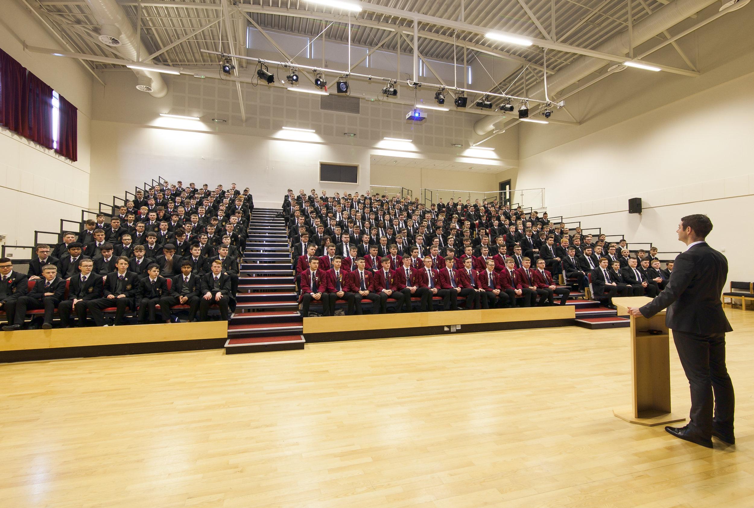 Belfast Boys' Model School Facilities - Auditorium