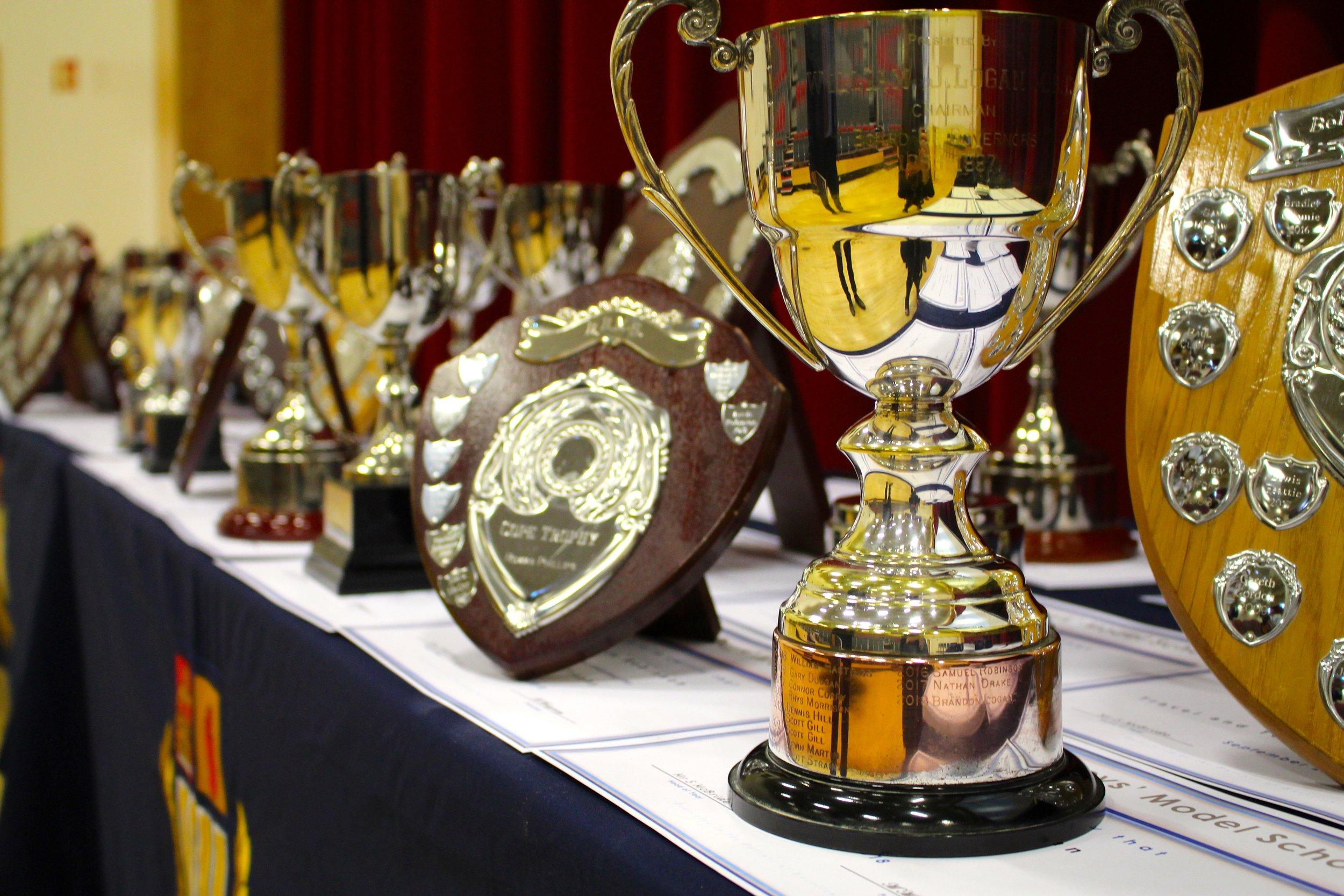 Award Winners at Belfast Boy's Model School