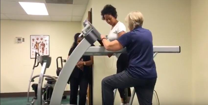Glancy Rehab Center Transitional Gym
