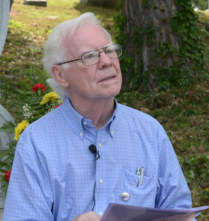 "Fr. Michael Doyle  Board Member  Monsignor Michael J. Doyle needs little introduction, Irish born, Fr. Doyle briefly taught in Absecon but ministered almost exclusively to the city of Camden. Friends, supporters and associates include late peace activist the Rev. Daniel Berrigan, Nobel Peace Prize winner Mairead Corrigan, housing activist Sister Peg Hynes, farmworker activist Cesar Chevez and most notable to NVHA, haiku poet and Camden native Nick Virgilio. Narrated by Martin Sheen, a recent documentary called ""Poet of Poverty"" focused on Doyle's poetry and his monthly letter to his congregation. His writing was collected as a book titled, ""It's a Terrible Day, Thanks be to God."" Fr. Doyle is a master tailor of words and brings a plethora of support, creativity and knowledge to NVHA."