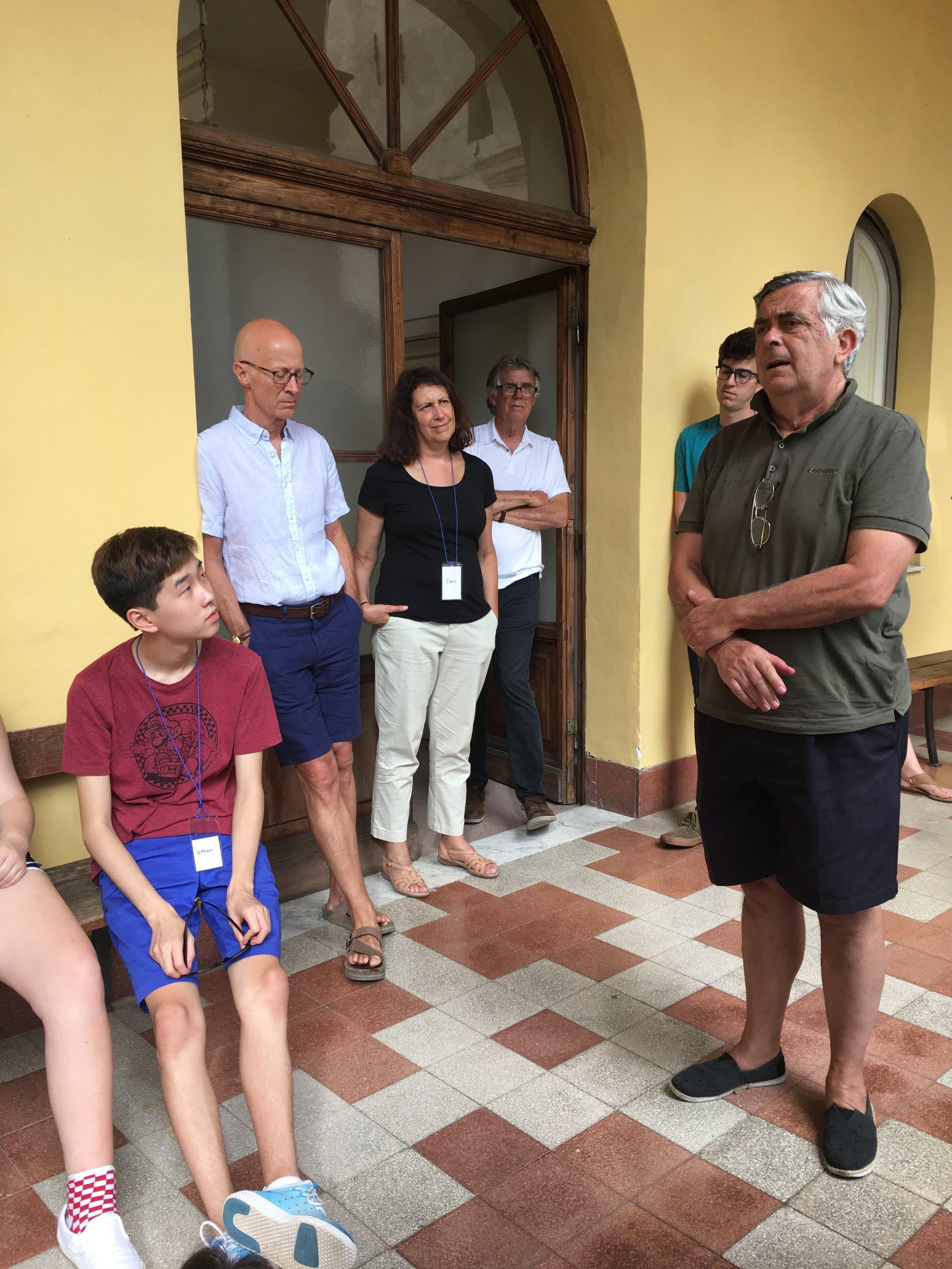 Lorenzo Muti describing his love for his hometown, Spoleto.