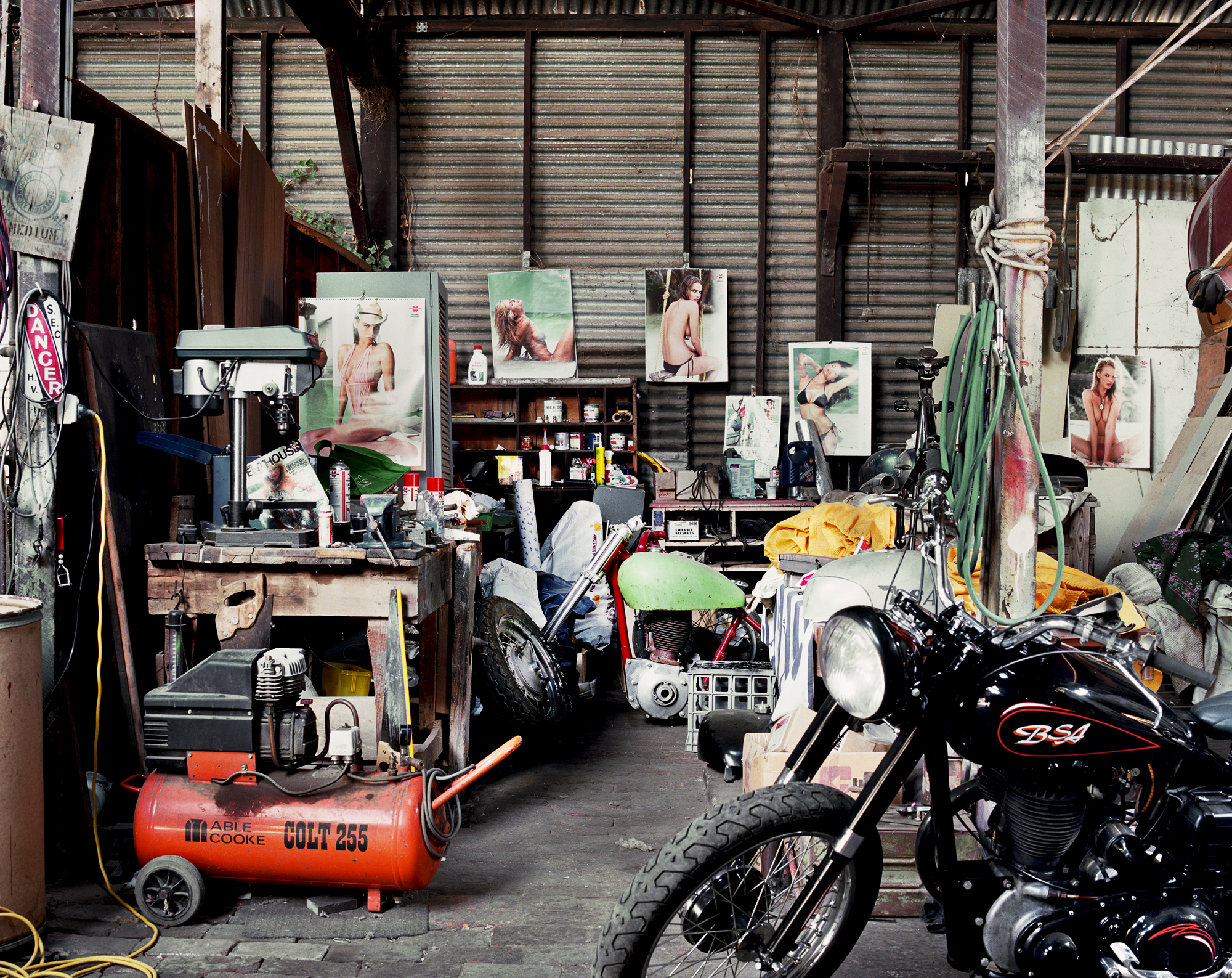 - Flaherty's Shed -  Medium:  Lambda print  Edition:  2/6    plus 2 artist's    D:  109 x 134 cm / 43 x 53 in (framed)