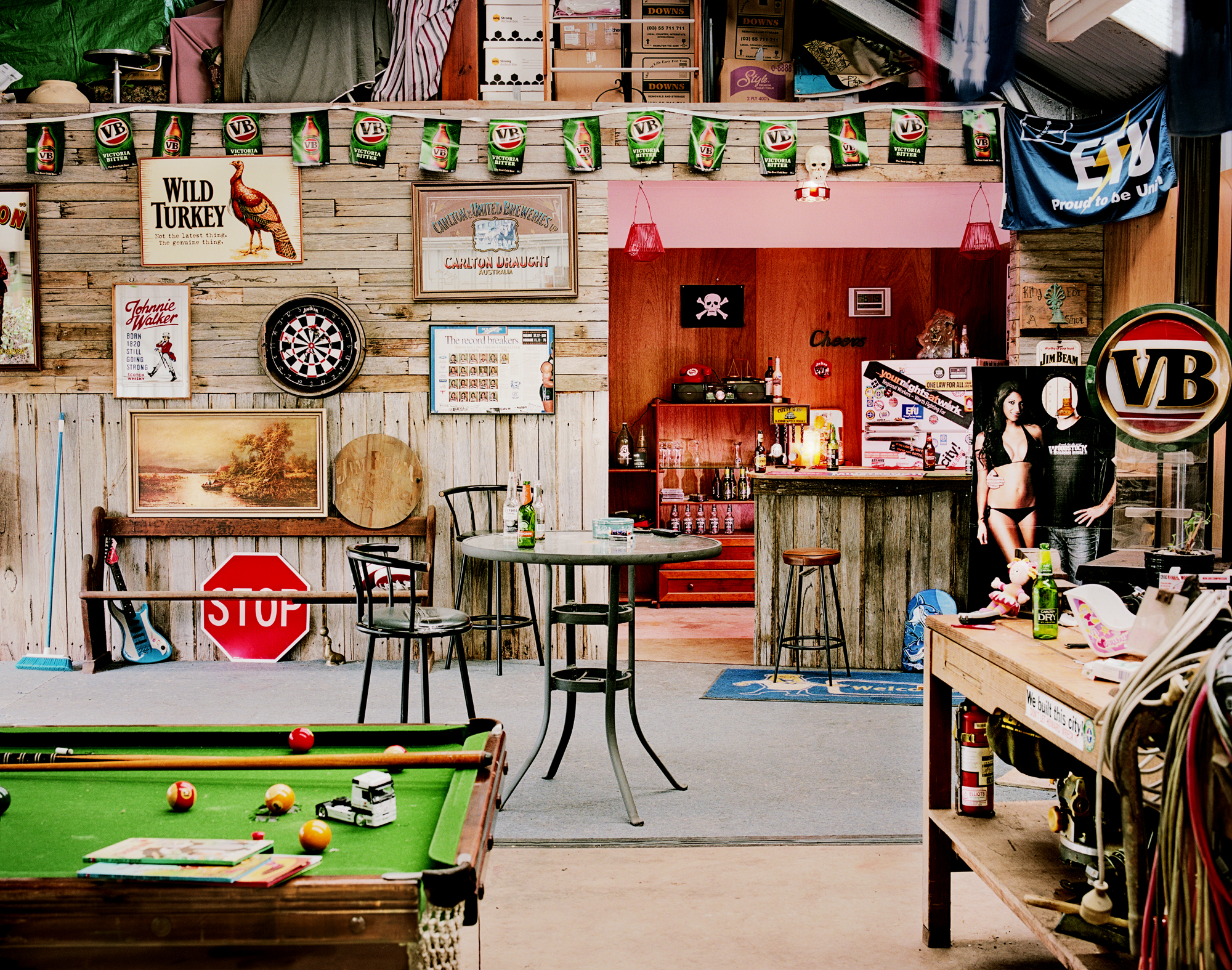 - Chris' Shed -  Medium:  Lambda print  Edition:  2/6    plus 2 artist's    D:  109 x 134 cm / 43 x 53 in (framed)