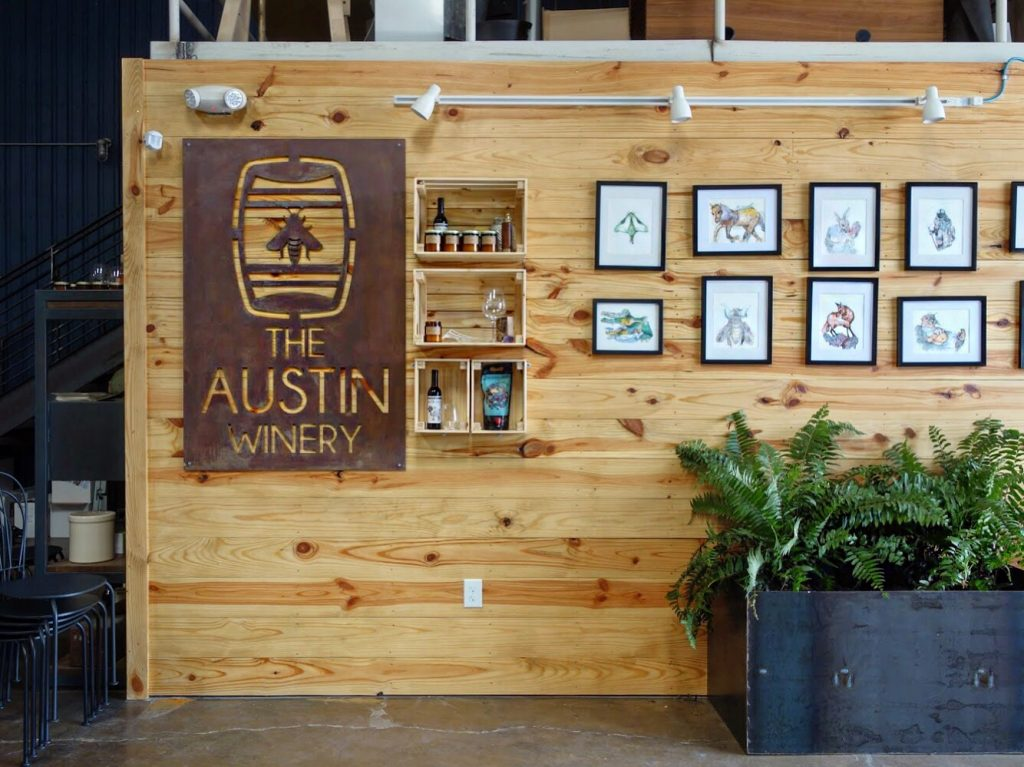 Entrance to The Austin Winery (Credit:  Susannah Haddad )