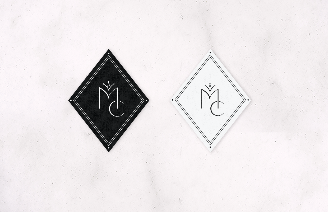 Majestic Couture-logo stickers