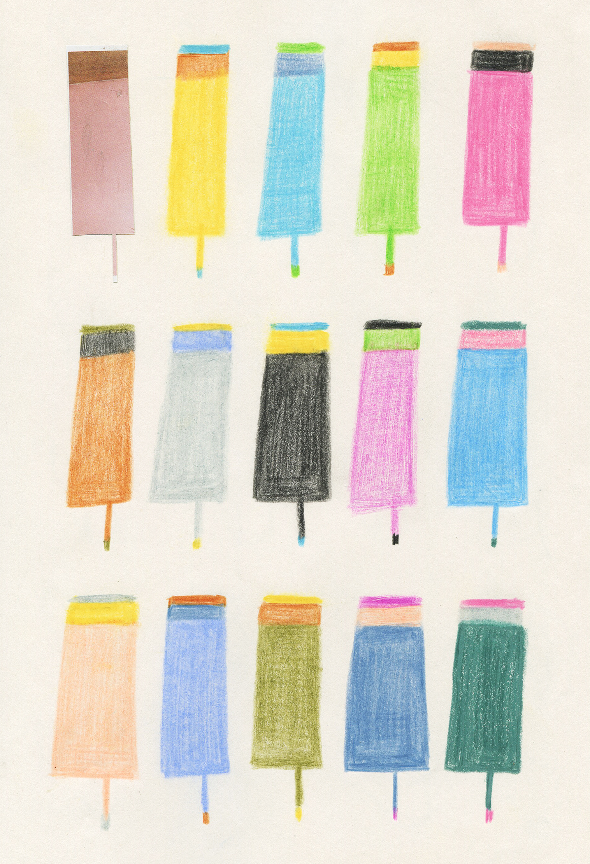 Colorful Ice Pops
