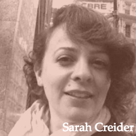 Dr. Sarah Creider is a Visiting Assistant Professor of Multilingual Multicultural Studies at New York University. She received an EdD in Applied Linguistics from Teachers College, Columbia University. Sarah specializes in preparing teachers for multilingual classrooms in urban settings and has supervised pre- and in-service ESL and bilingual teachers at NYU, Teachers College, and Hunter College. Sarah is particularly interested in developing teacher skills for content-based language instruction, working with SIFE students, teacher-student interaction in multilingual settings, and teaching in multi-level classes. She also offers courses and coaching in second-language pedagogy for adult students with limited first language literacy. As a researcher, Sarah uses conversation analysis to look at talk, gesture, and body position in educational environments, asking how close analyses of interaction can inform teachers' moment-by-moment choices in the complex world of a classroom.