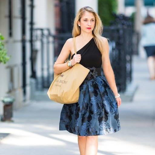 Karen Brown NYC sidewalk