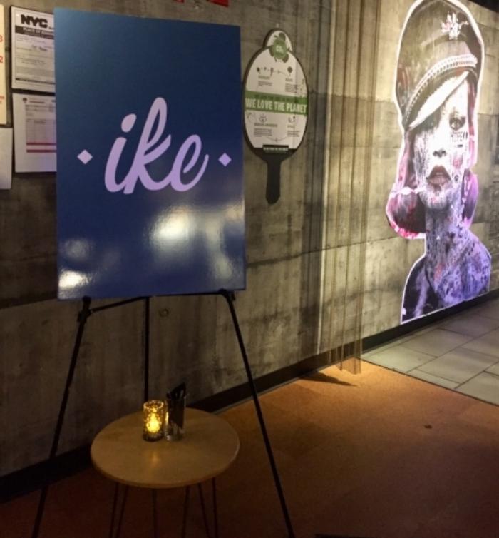 Ike's bar mitzvah poster