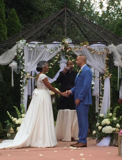 wedding ceremony Douglaston Manor