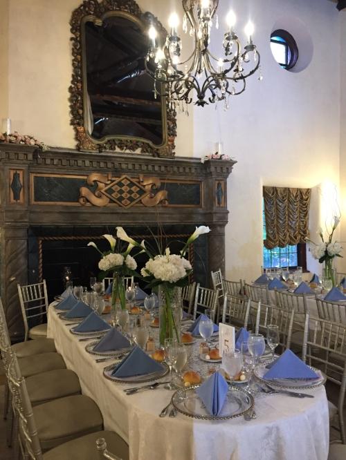 Douglaston Manor wedding reception