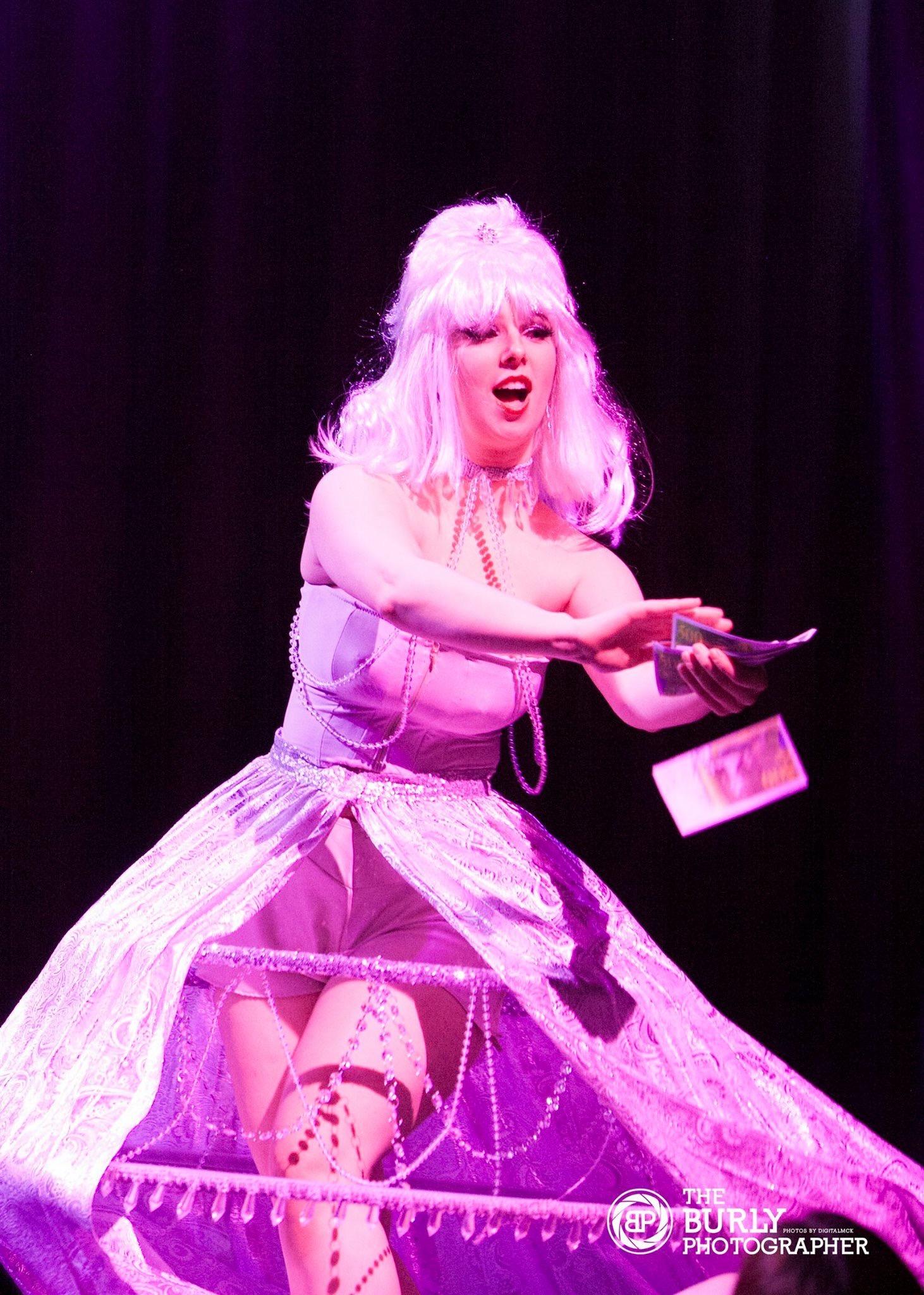 Valerie Savage - Marie's Last Party @ Burlesque Idol UK Grand Finals 2017