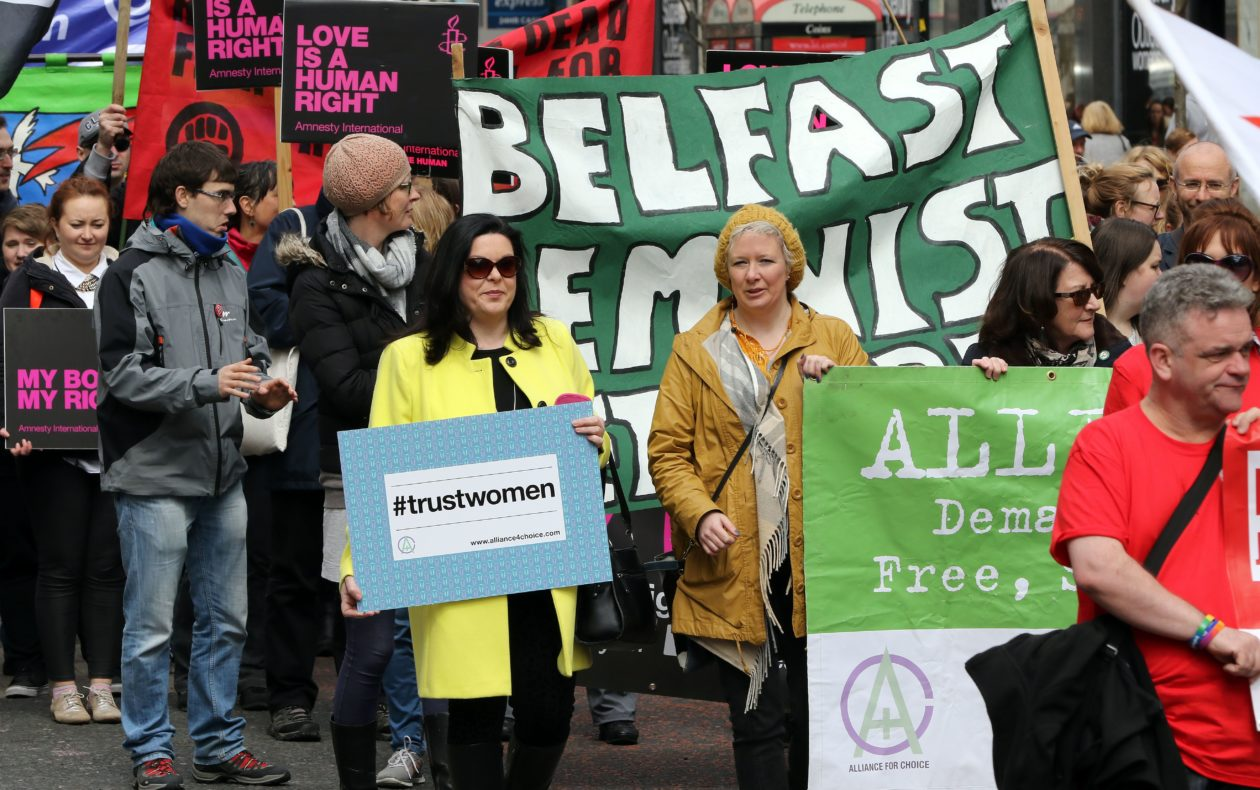 This issue can no longer be ignored.  - Women in Northern Ireland are UK residents, tax-payers and above all human beings – who deserve the same rights as their English, Scottish and Welsh counterparts.