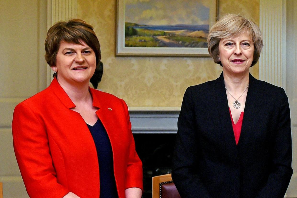 DUP DEAL WITH TORIES 'COULD LEAD TO VOTE ON REDUCING ABORTION TIME LIMITS'