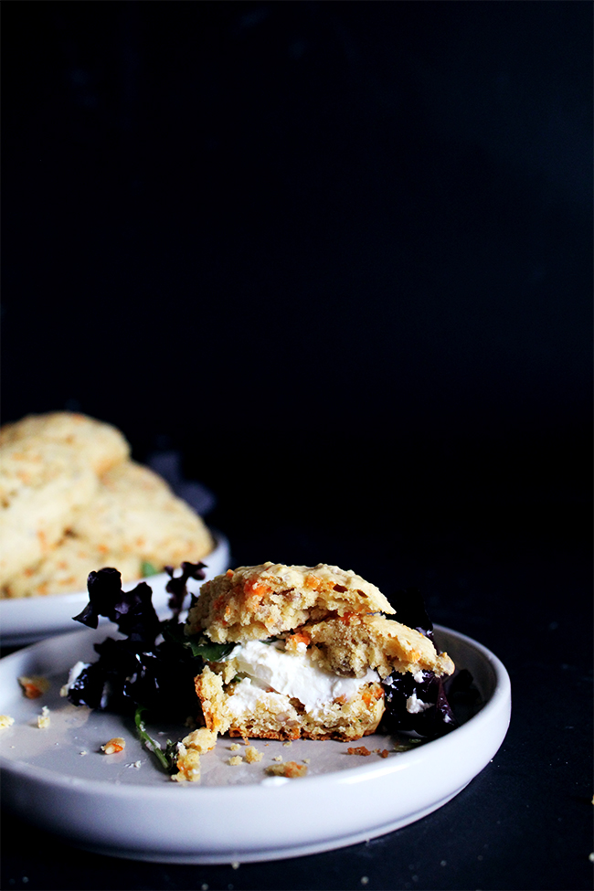 carrot and sunflower seeds scones
