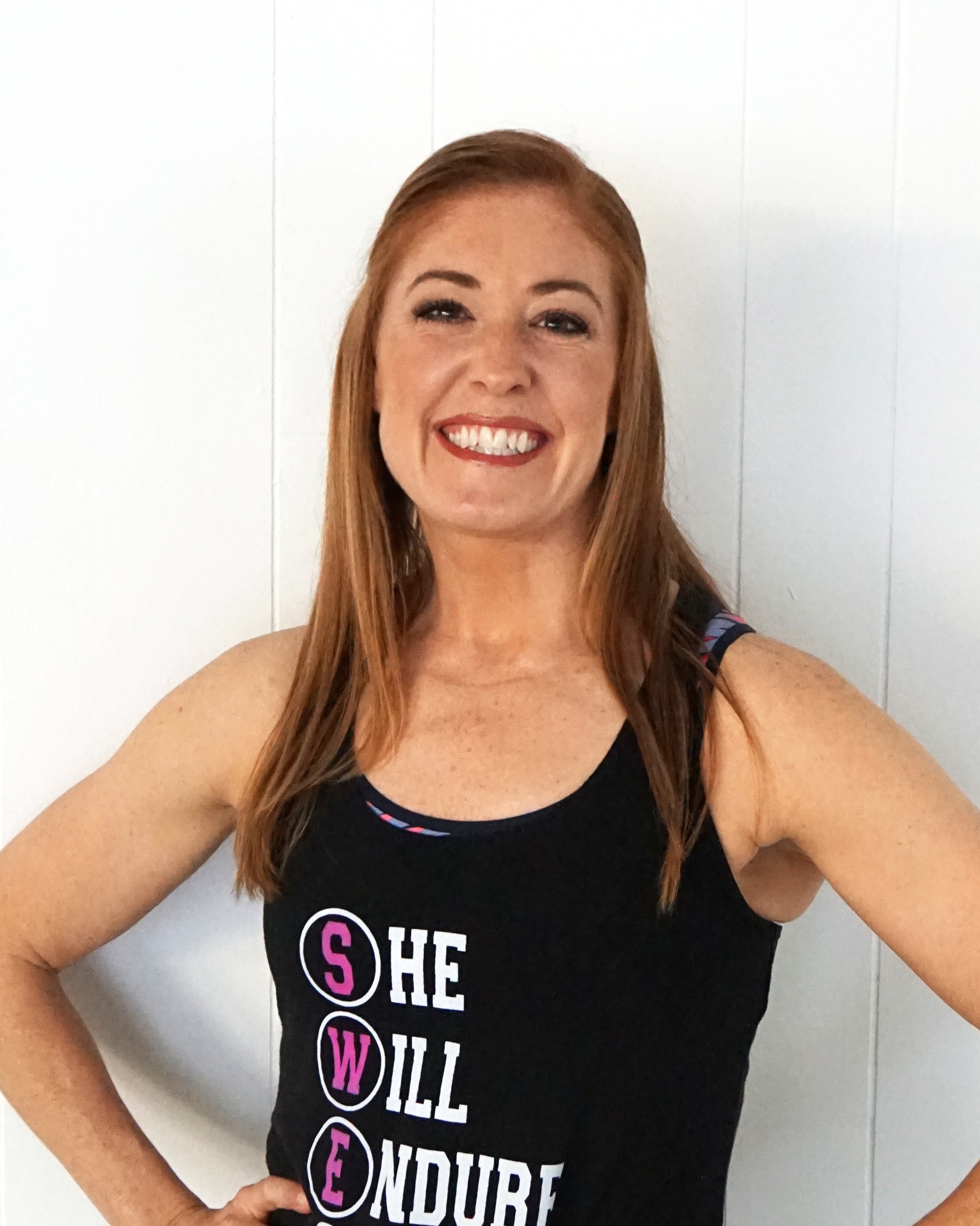 SWEAT INSTRUCTOR AND OWNER MEGAIN THIEMAN