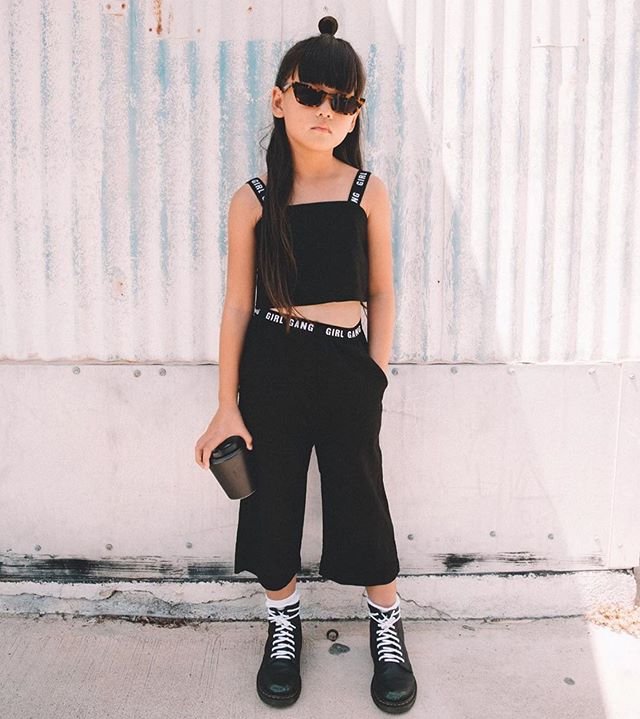 One of our favourite girl gang members @zooeyinthecity 🖤 Our 50% off SALE site wide is still live for all of you asking, this set included #sale #ss19
