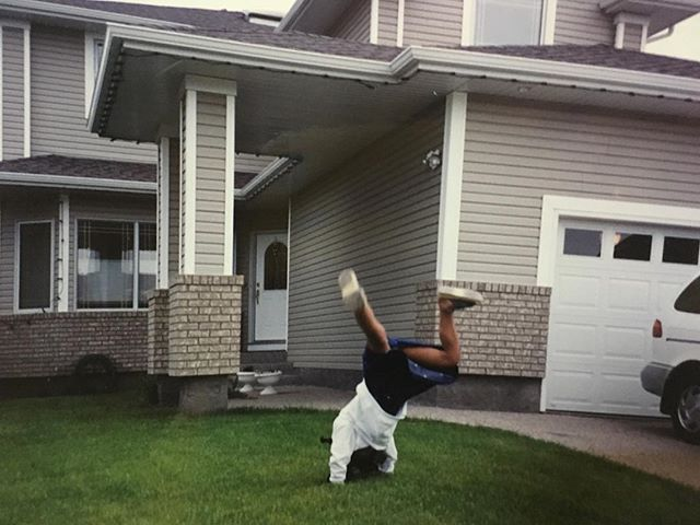 When my greatest worries in life were sticking the landing after a cartwheel. Now I'm tryna stick the landing of LIFE