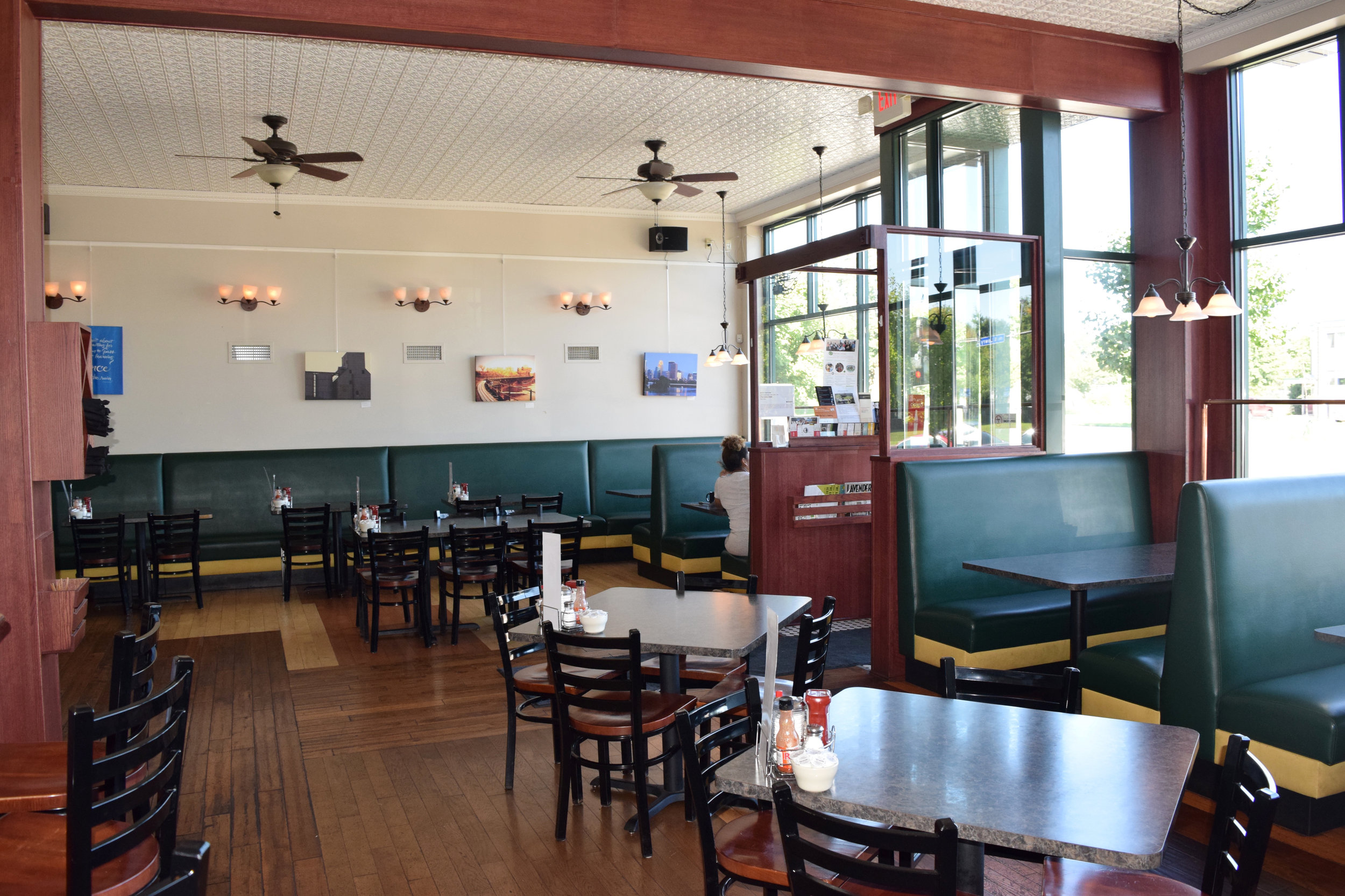 The Lowry Cafe is located at 2207 Lowry Ave. N.