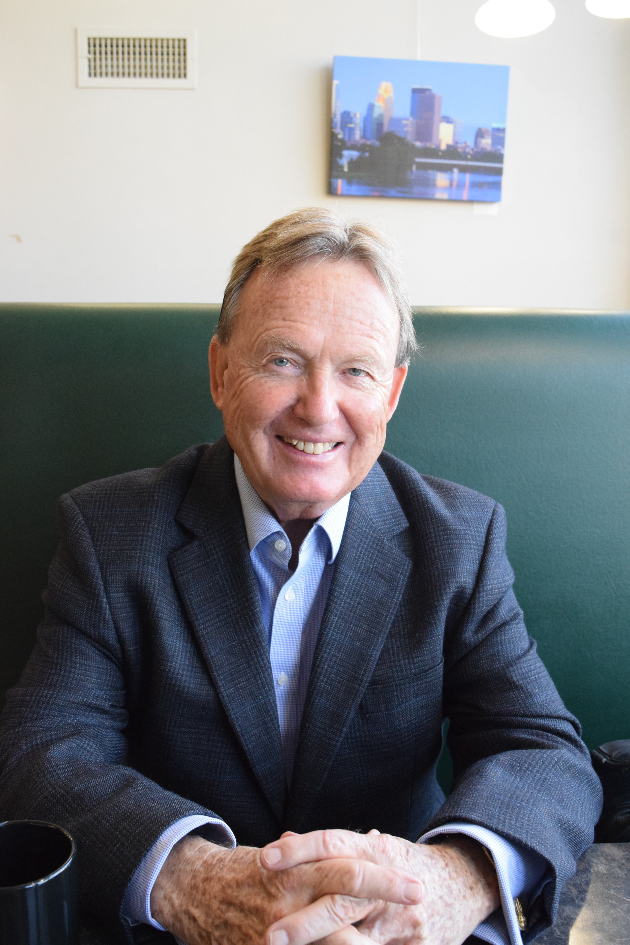 James O'Neill, an investor who currently lives in Edina, is one of the new owners of the Lowry Cafe.