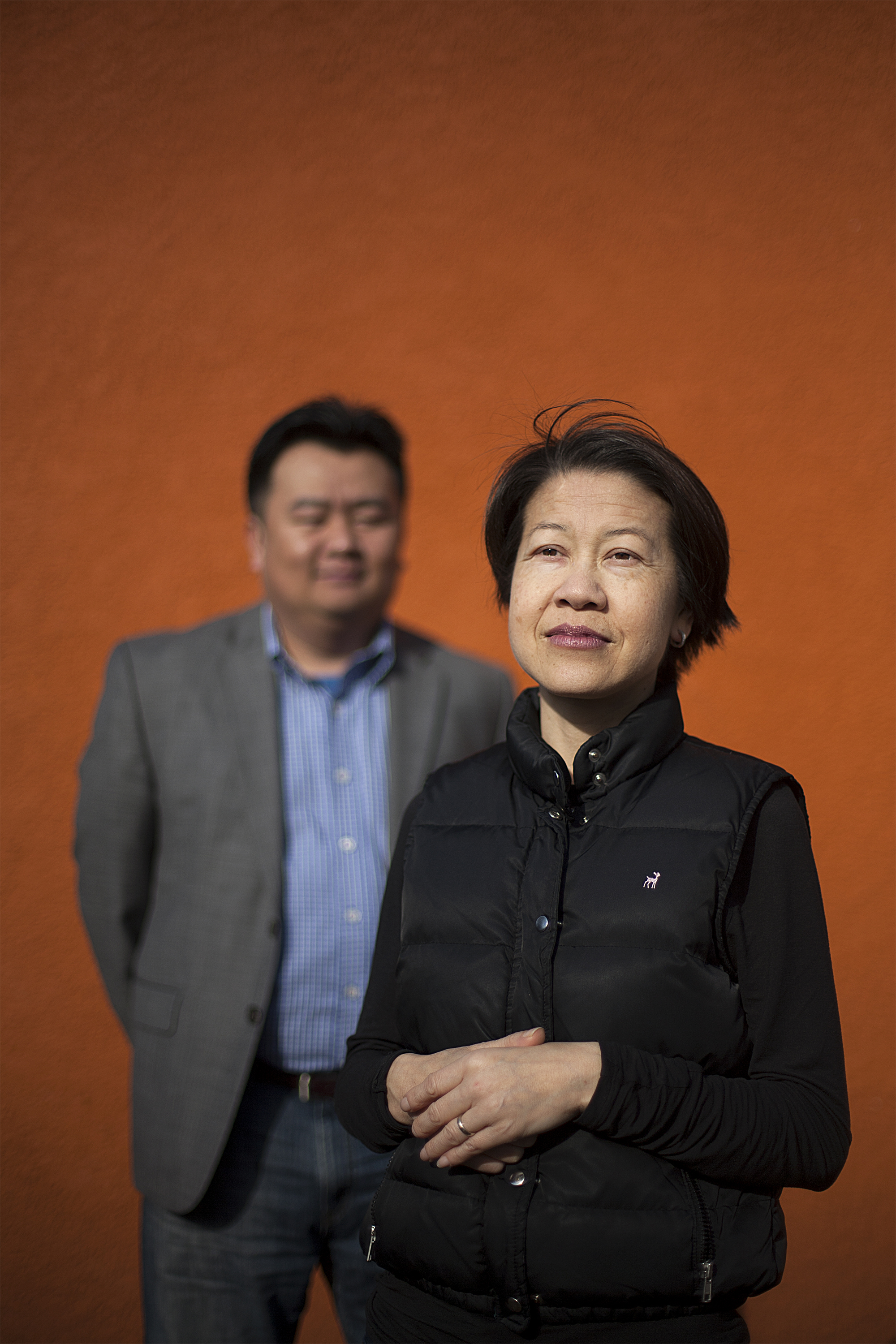 Mai Neng Moua, pictured with her husband, City Councilman Blong Yang, published her memoir,  The Bride Price , this year. It explores the consequences she faced when she fought against traditional Hmong marriage customs.