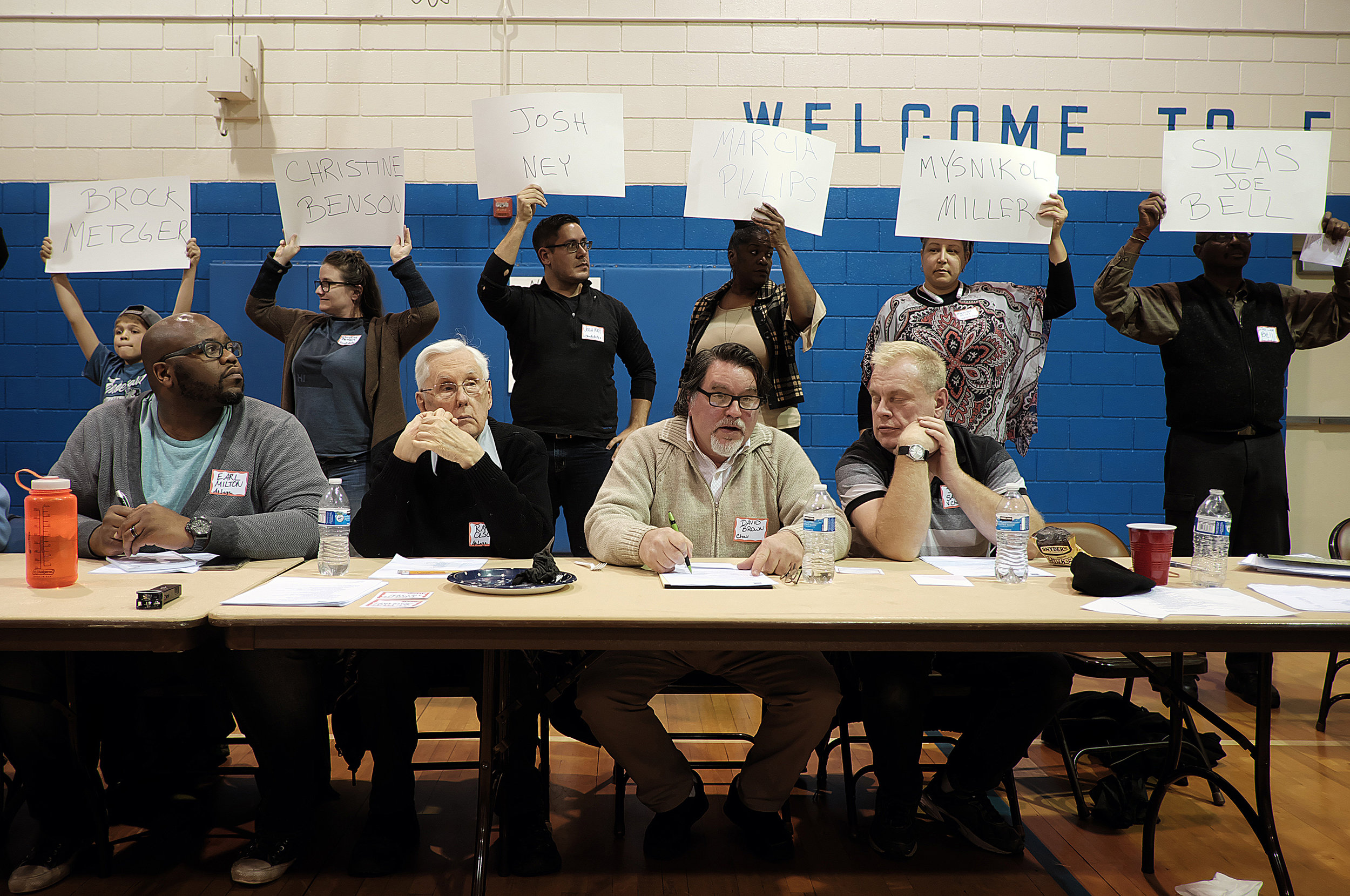 Folwell neighborhood residents elected an entirely new board for their neighborhood association this year after community members expressed concern with the board's operations and demanded change.