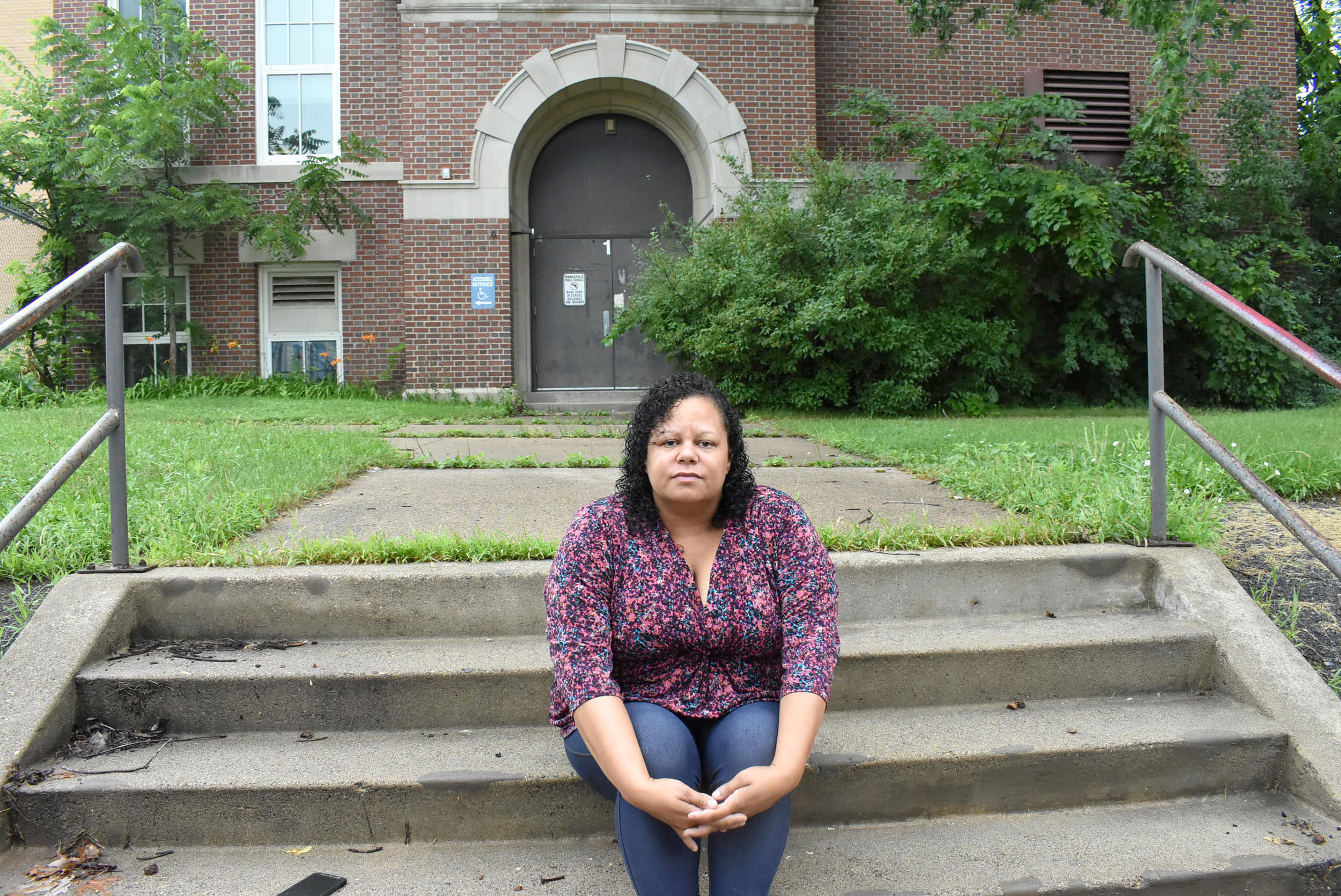 MPS Director KerryJo Felder believes a lack of trust between the district and Northsiders could be rebuilt if the district opens the vacant schools up and allows the community to access them. Photos by Cirien Saadeh