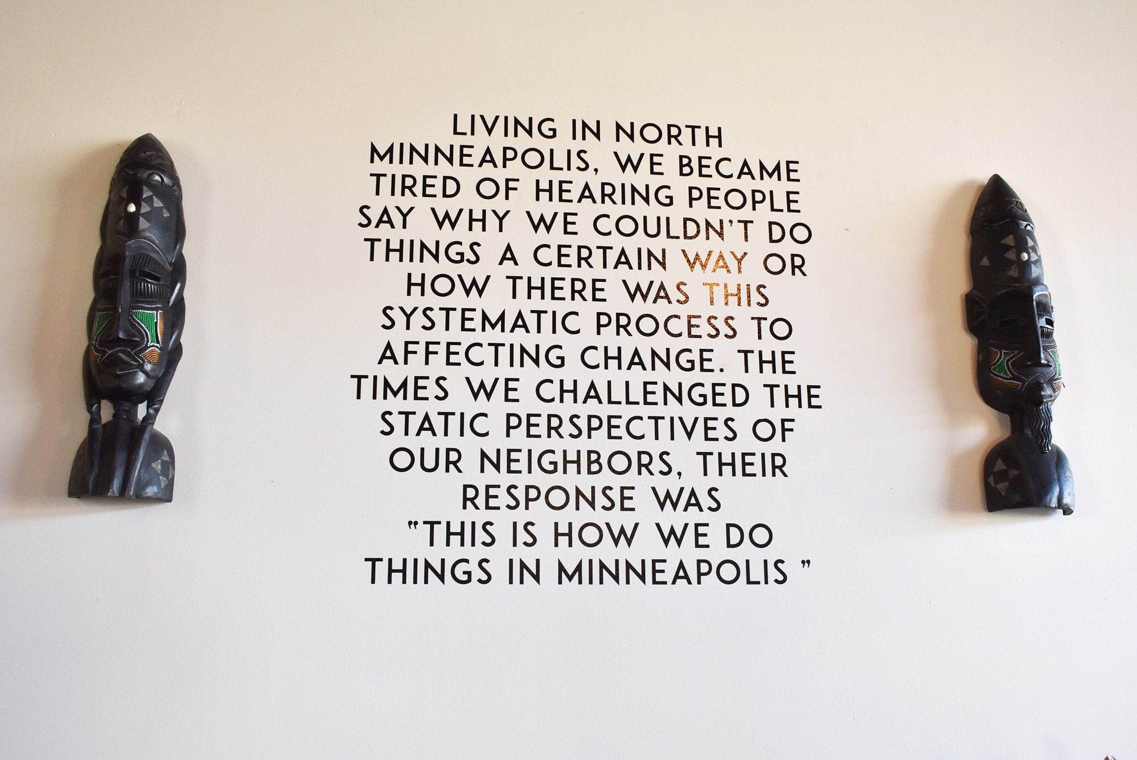 New Rules, a North Minneapolis - based shared work space and event meeting space, is celebrating its 2nd anniversary with a whole slew of events planned for October. The business has high hopes for its future and big dreams for North Minneapolis.  Photo by Cirien Saadeh