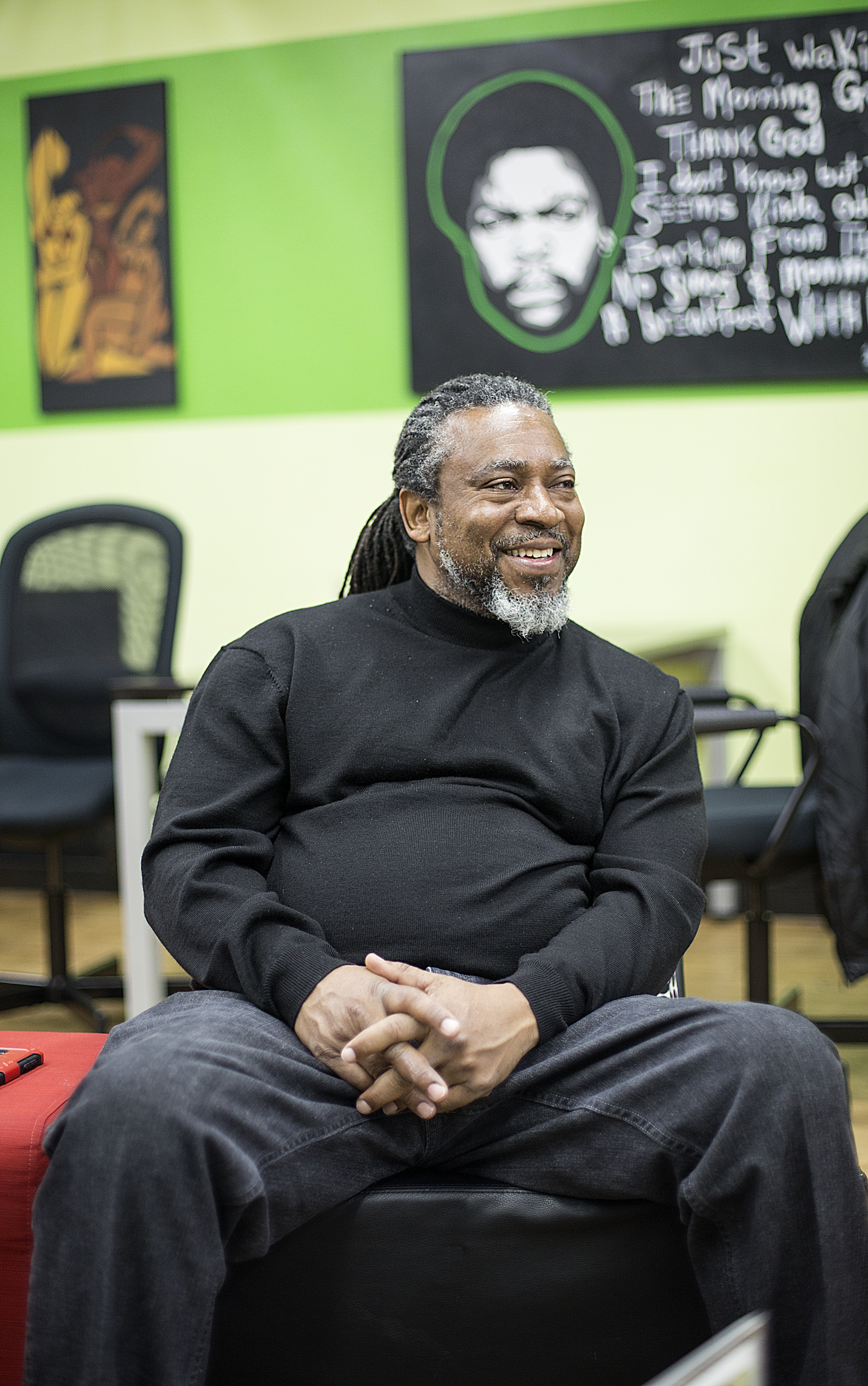 Charles Caldwell is a multidisciplinary artist who has lived and worked in North Minneapolis since he was six years old.