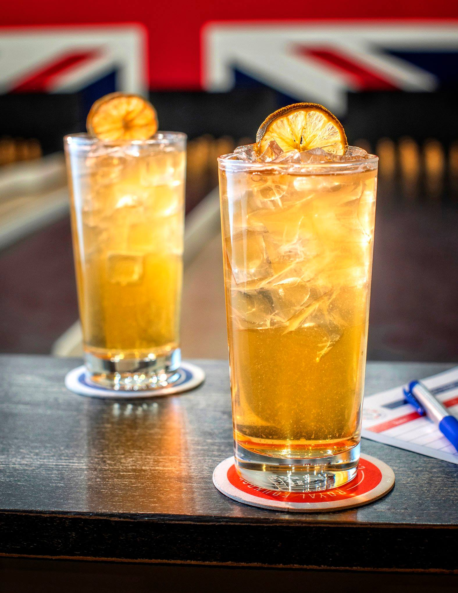 "The ""Prince Harry"" is made with rum, ginger, lime and classic bitters."