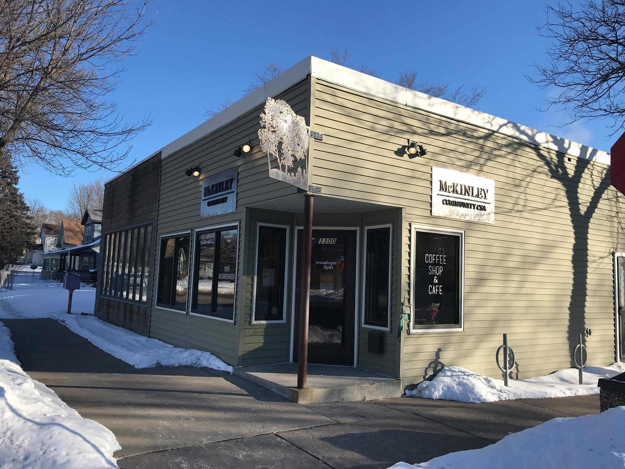 In late March, Serendripity Spot, a McKinley neighborhood coffee shop abruptly announced that it would no longer carry a business license.  Photo courtesy of the McKinley Community Facebook Page