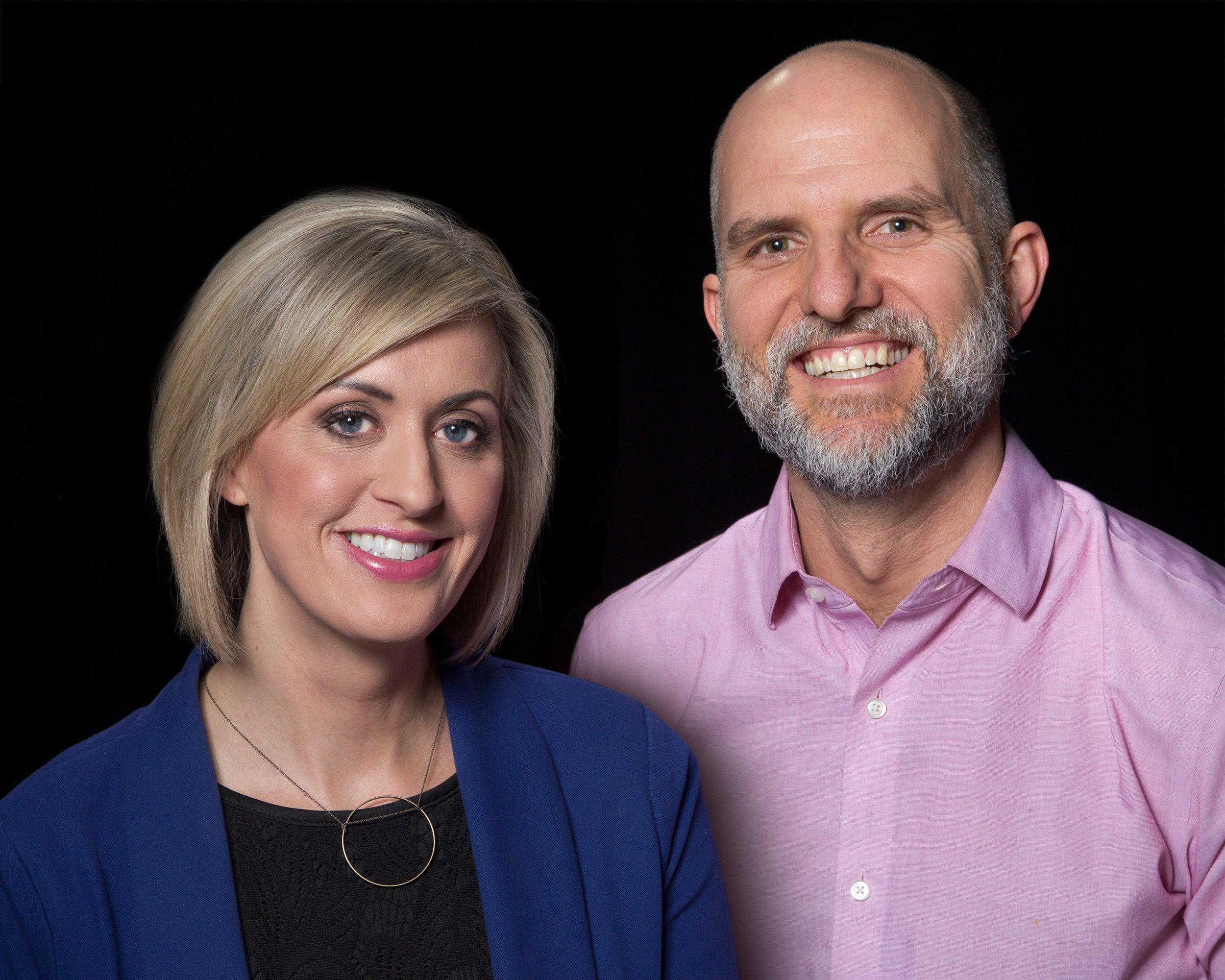 Lindsey Seavert (left) and Ben Garvin (right).  Photo courtesy of KARE11