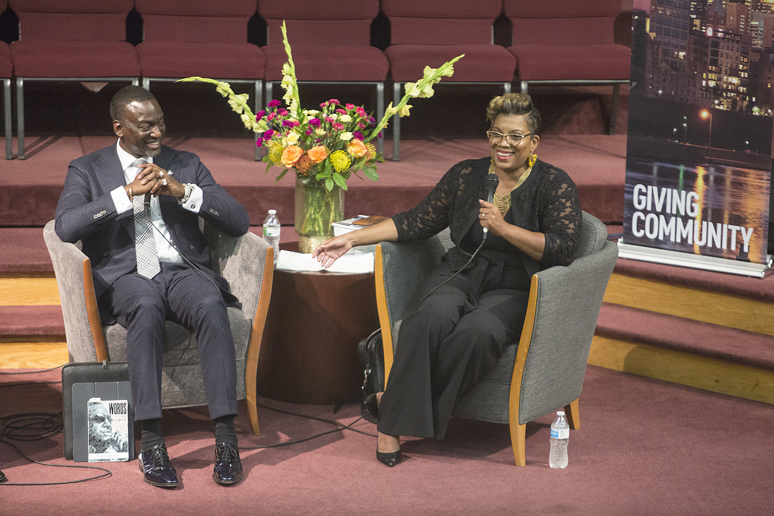 """Smith Baker speaks with Yusef Salaam, one of the Central Park 5, as part of her """"Conversations with Chanda"""" series."""