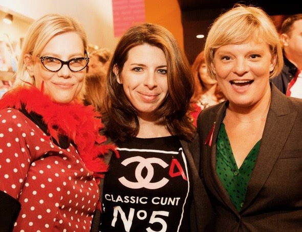 With  Kellie Overbey  &  Heather Matarazzo