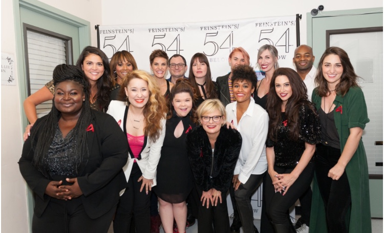 Group photo at  Broadway Acts for Women 2018