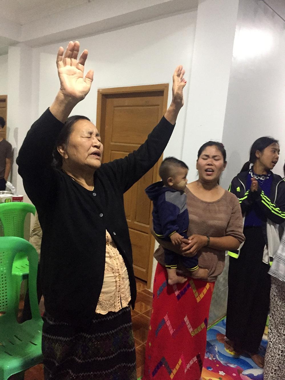 David's mother lives to worship God