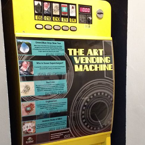You can now buy my films in the Art Vending Machine