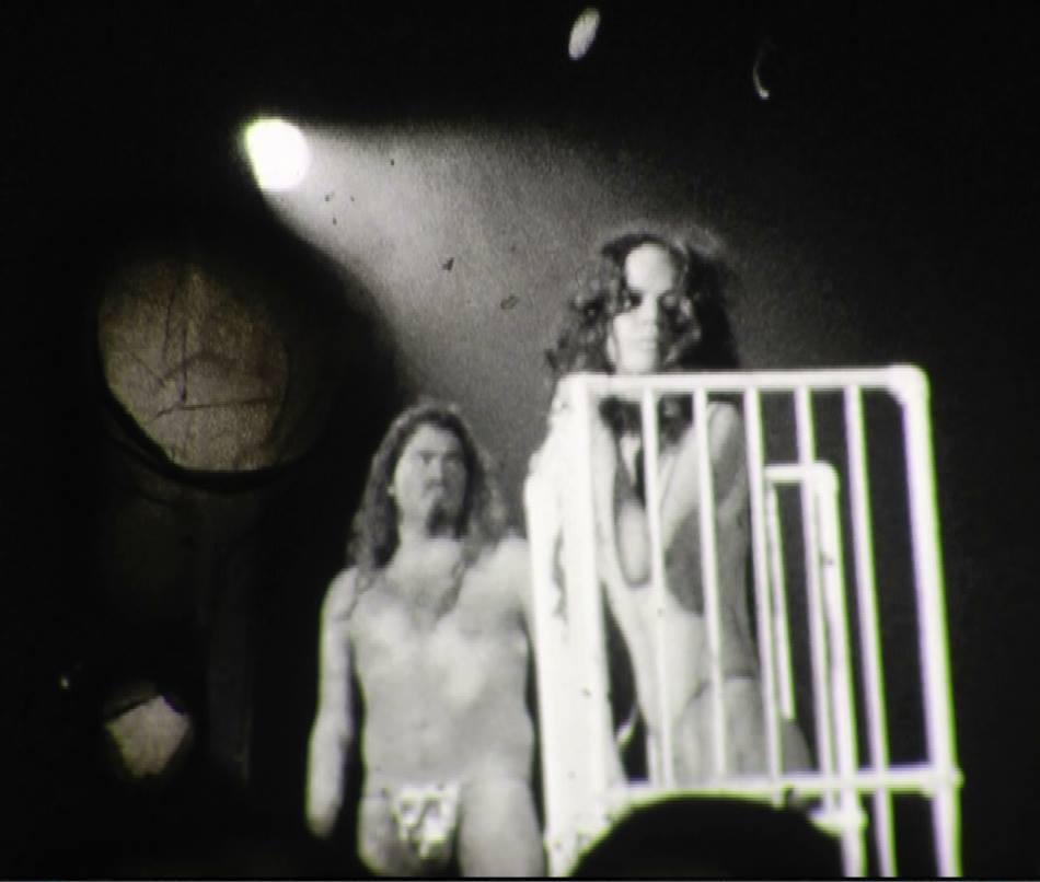 Super 8 Film Still of my New York film, Kembra Pfhaler, in Karen Black