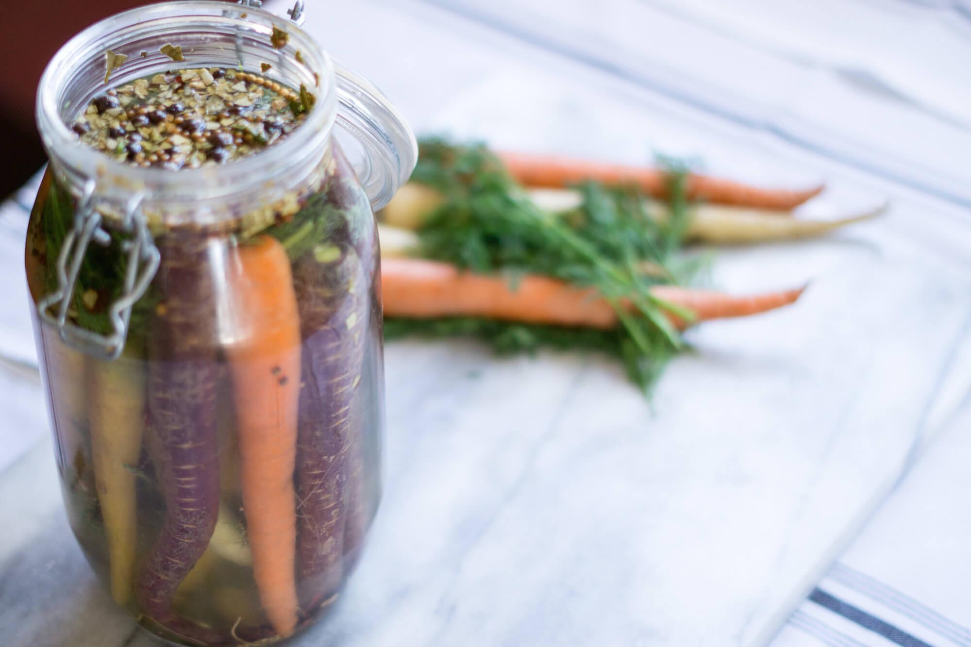 Nordic Pickled Vegetables