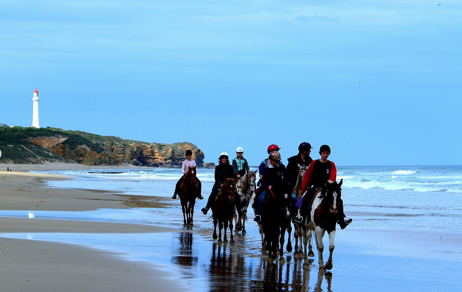 Ride - Isn't it everyone's dream to ride along the beach? You can experience the pristine white sand and blue waters and 6 km of coastline. Blazing saddles offers you the experience of a lifetime.