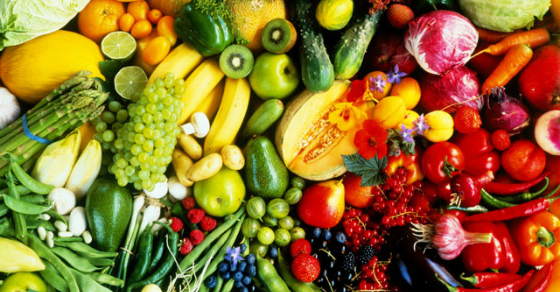 Fresh fruits and vegetables (Source: smh )