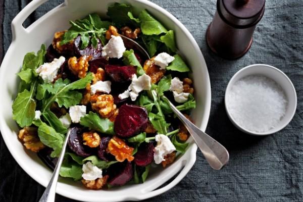 Beetroot and walnut salad (Source: taste )