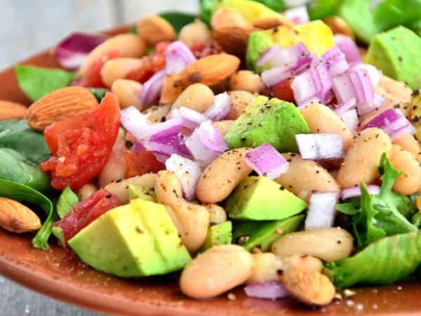 Mexican bean salad (Source: foodnetwork )