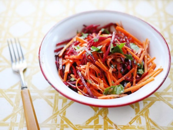 Beet and carrot salad (Source: cookingchanneltv )