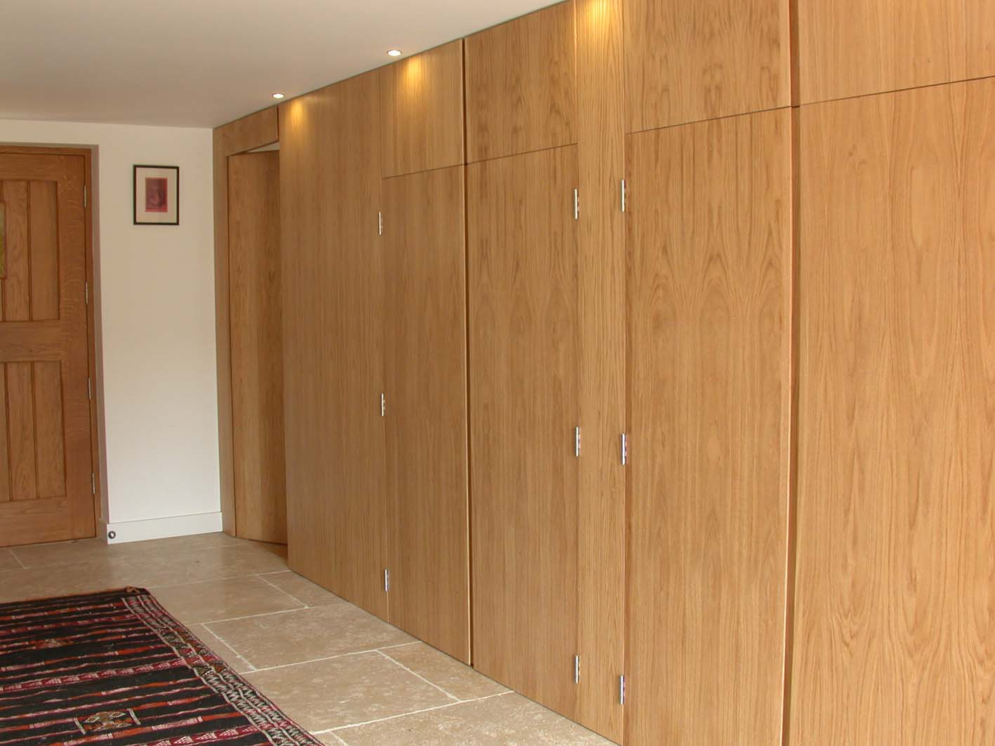 Oak wall and doors