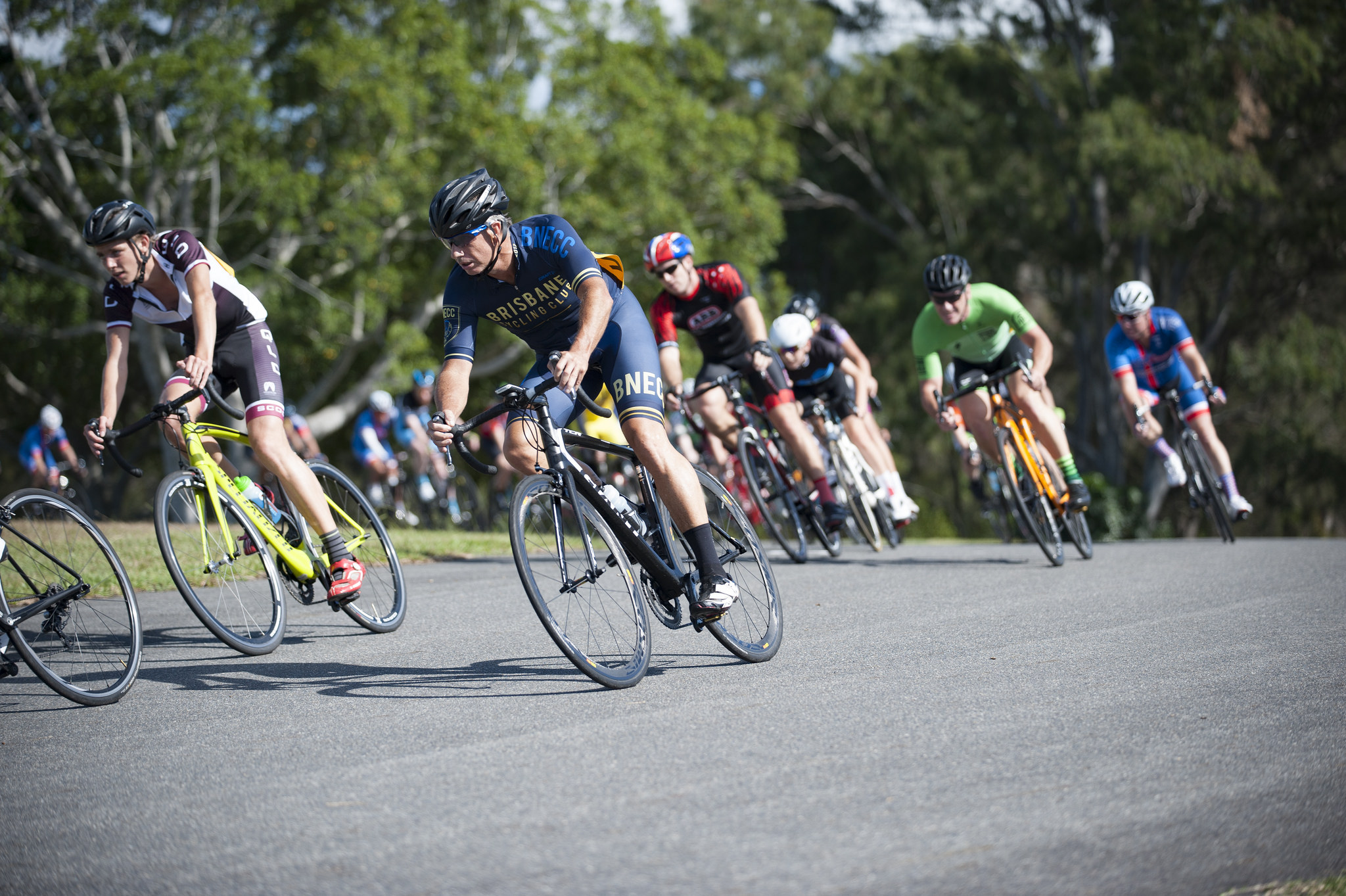 Racing At Brisbane Cycling Club