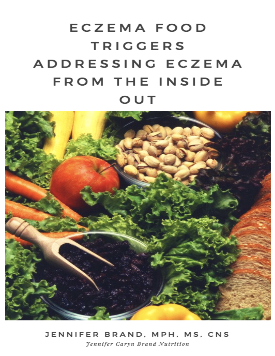 Jennifer Caryn Brand Nutrition, Eczema Food Triggers Ebook
