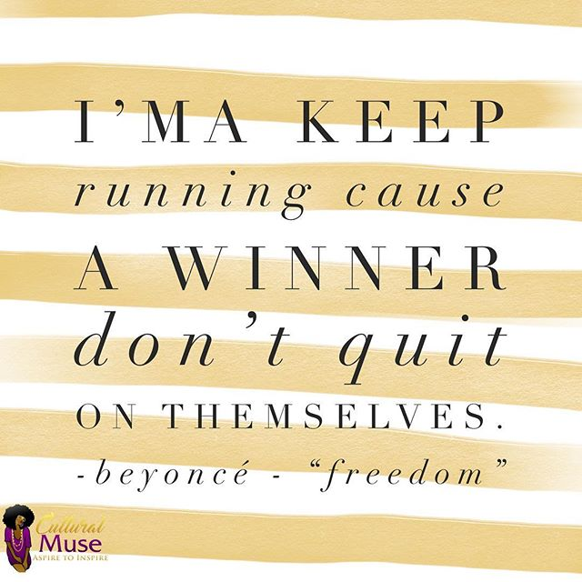 Wise words from Queen Bey! Let's tackle Monday ladies! 💜💛 . . . #culturalmuse #aspiretoinspire #blackgirlmagic #beyonce #MondayMantra
